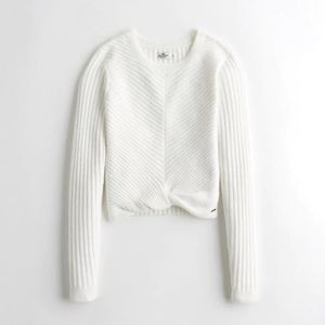 Hollister Twist Hem Sweater